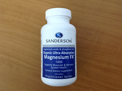 Sandersons Magnesium FX1000 120s