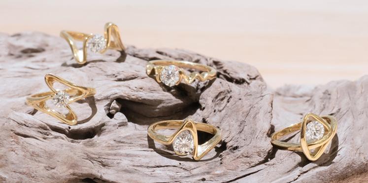 Sandrift New Zealand Diamond Ring Collection