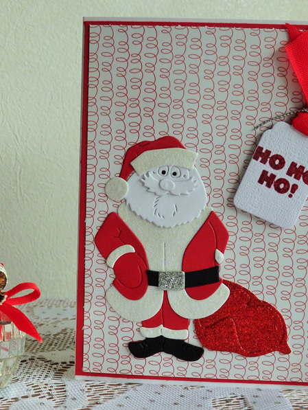 Santa  Ho Ho Ho Card