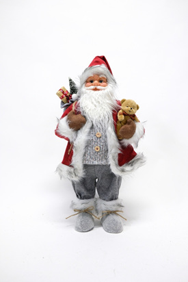 Santa red jacket 61cm