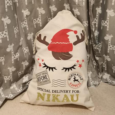 Santa Sack 3 Personalised