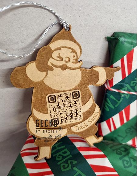 Santa Tracker Ornament