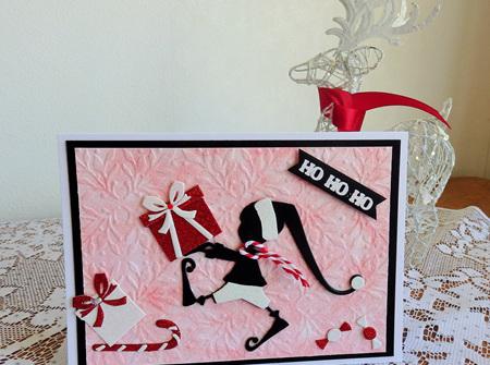 Santa's Helper 'Ho Ho Ho' Card