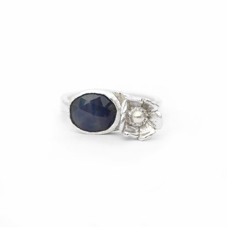 Sapphire Bloom Ring