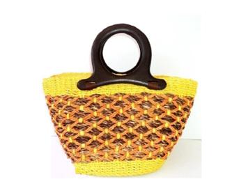 Sarah Yellow Handbag