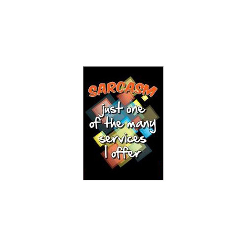 sarcasm fridge magnet gift