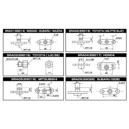 SARD Fuel Regulator Adapter 69017