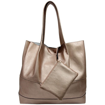 SASSY DUCK ROXY TOTE IN ROSE GOLD