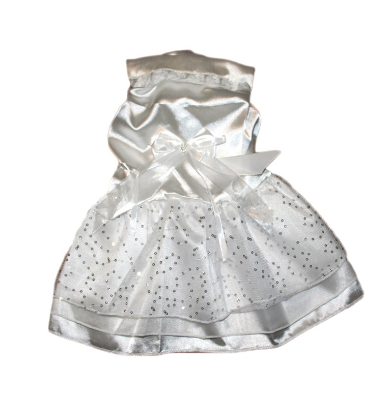 Satin layered dress