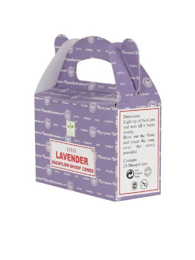 Satya Lavender Backflow Cone