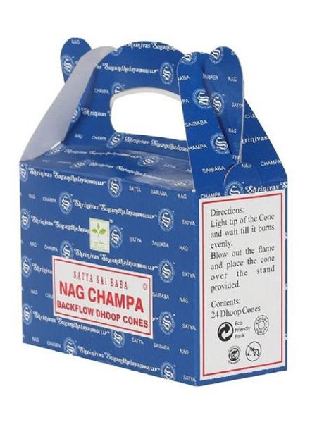 Satya Nag Champa Backflow Cone