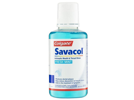SAVACOL Fresh Mint M&T Rinse 300ml