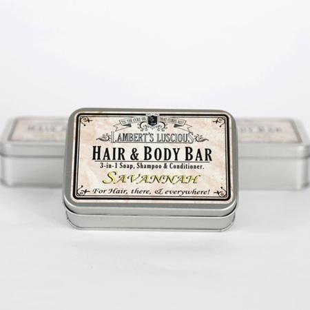 Savannah Hair & Body Bar Tin