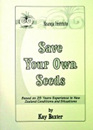 Save Your Own Seeds