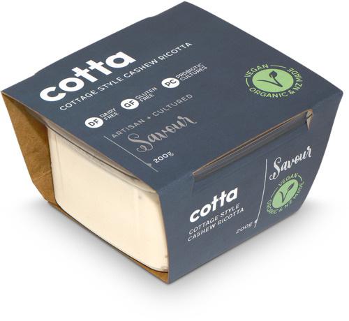 Savour Cotta Cottage Style Cashew Ricotta