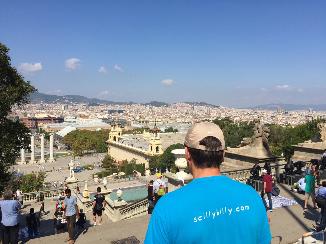 Scilly Billy in Barcelona