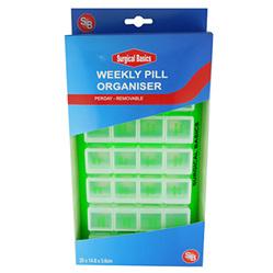 S/B BASICS WEEKLY ORGANISER - PILL17