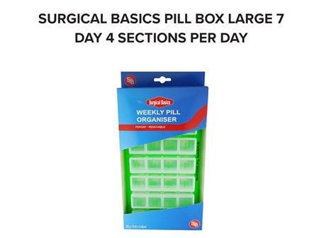 SB PILL17 7 Day 4/Day Remov.Day Lrg