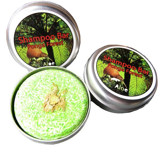 SB24 Ponga Forest Aloe Shampoo Bar