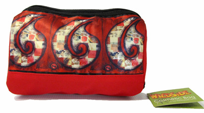 SB502 Cosmetic Bag Red Hei Matau