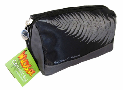 SB802 Cosmetic Bag Silver fern