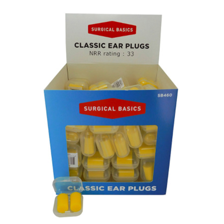 S/BASICS EAR PLUG FOAM CLASSIC NRR33