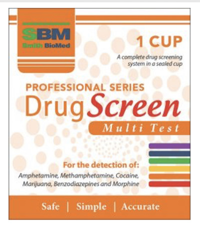 SBM 6 Drugs Test Integrated Cup