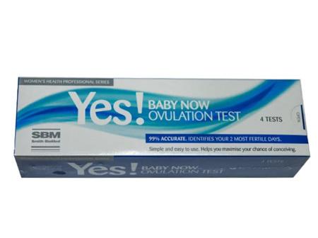 SBM Yes Ovulation Test 4pk