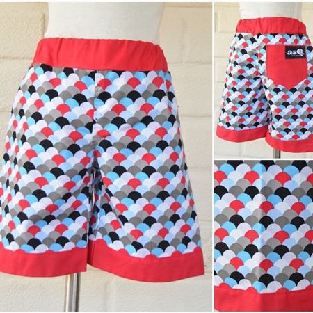 Scale Shorts Size 3