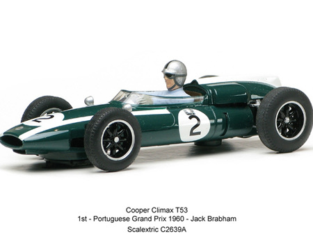 Scalextric 1/32 Classic Grand Prix 1960 Cooper Climax Jack Brabham