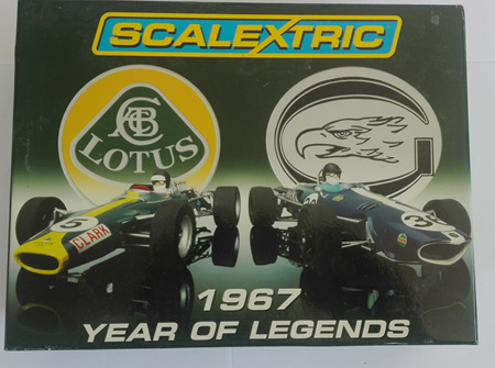 Scalextric 1967 Year of Legends Limited Edition Set C2923A