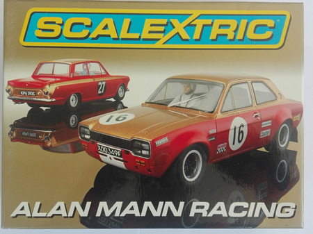 Scalextric Alan Mann Racing Limited Edition Set C2981A