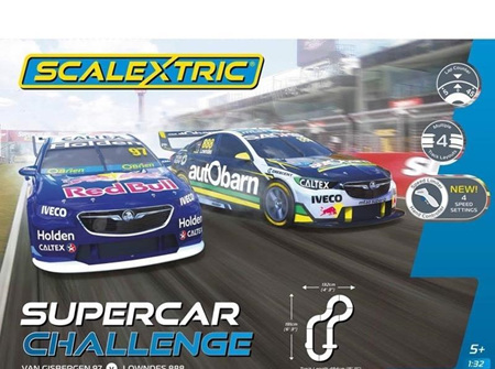 Scalextric C1400NIC V8 Supercar Challenge Set - SVG Vs Lowndes
