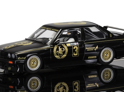 Scalextric C3757 BMW E30 M3 'JPS' - 1987 Australian Touring Car Champion