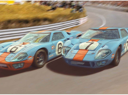 Scalextric C4041A 1969 Gulf Twin Pack Ltd Edition