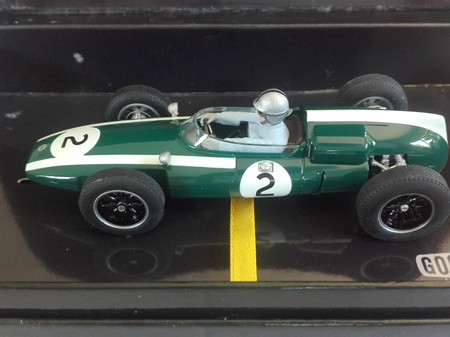 Scalextric Jack Brabham Cooper Climax T53 1960 C2639A
