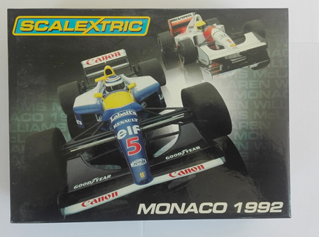 Scalextric Monaco 1992 Limited Edition Set C2971A