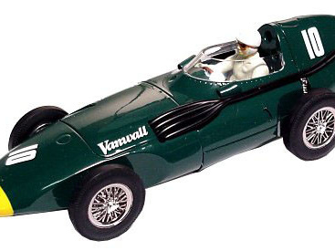 Scalextric Sport 1/32 Vanwall F1 1957 German GP Stirling Moss