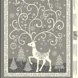 Scandi - Advent Calendar Grey