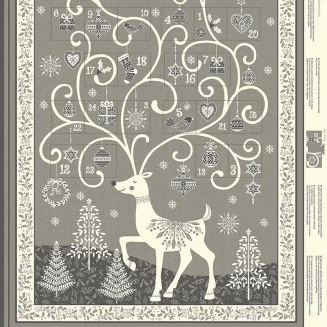 Scandi - Advent Calendar Grey