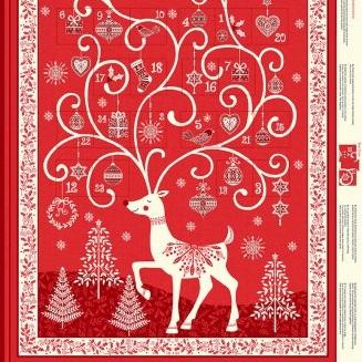 Scandi - Advent Calendar Red