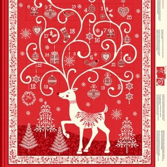 Scandi - Advent Calendar Red