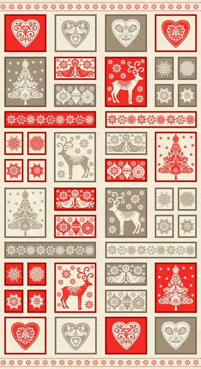 Scandi Christmas Panel