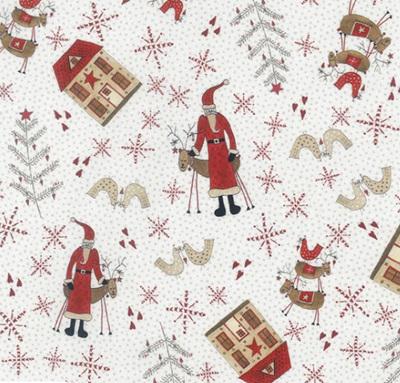 Scandinavian Christmas II Snowman & Houses 706908-10