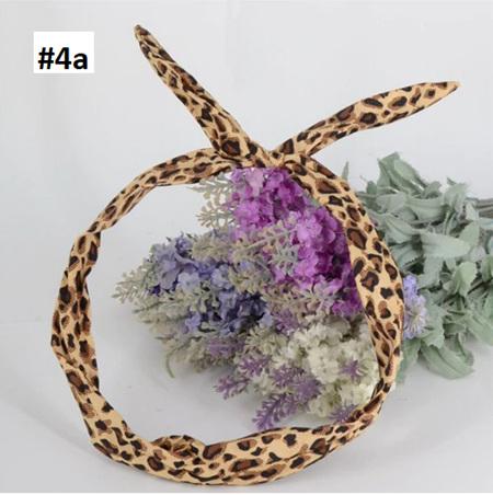 SCARF HEADBAND - ANIMAL PRINT #4A