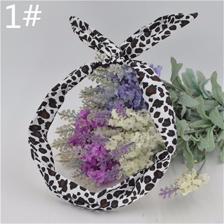 Scarf Headband - Animal Print  No. 1