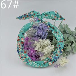 Scarf Headband - Blue Floral  No. 67