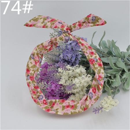 Scarf Headband - Floral No. 74