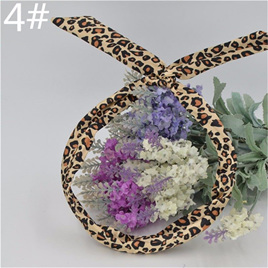 Scarf Headband - Golden Leopard Print  No. 4