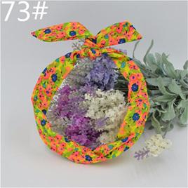 Scarf Headband - Multicoloured Floral  No. 73
